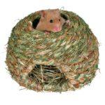 домик для хомячка из растительных волокон