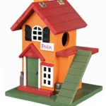 двухэтажный пластиковый домик для хомяка