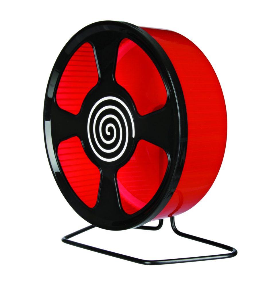 красное беговое колесо
