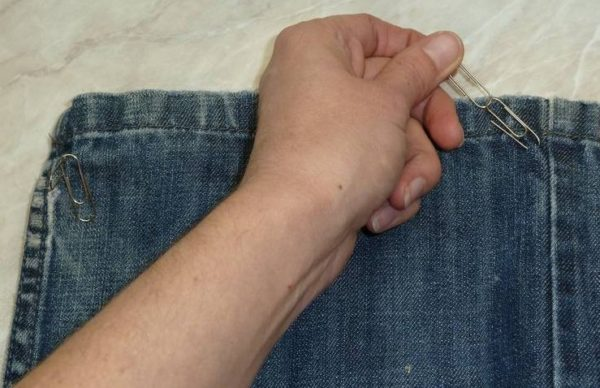 Гамак для крысы из джинсов своими руками