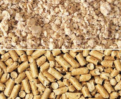Кукурузный наполнитель: мелкой фракции и гранулированный для крыс