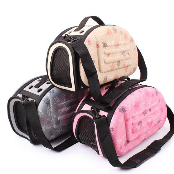 Большое разнообразие моделей и цветовой гаммы сумок-переносок для шиншиллы