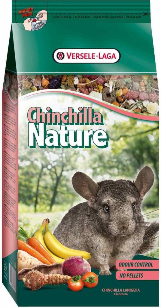 Корм для шиншилл versele laga chinchilla nature (версель ладж)