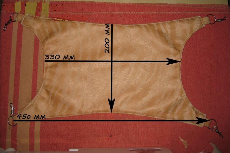 Как сделать гамак для шиншиллы фото 9