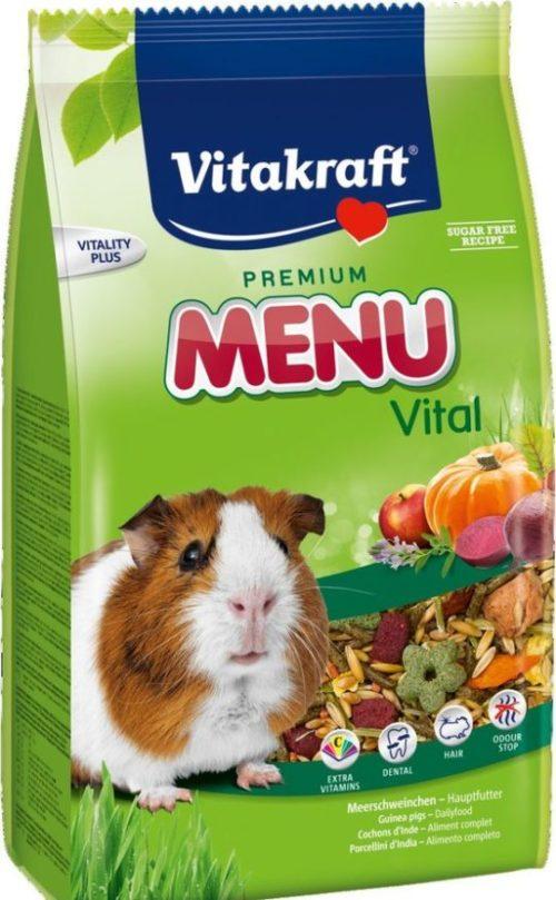Корм Menu Vital от фирмы Vitakraft для морских свинок