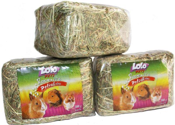 Сено торговой марки Lolo Pets для морских свинок
