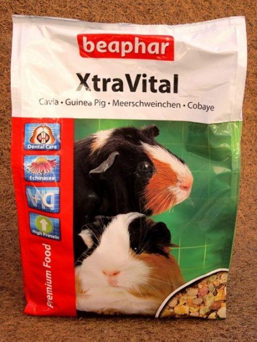 Корм XstraVital от компании Beaphar для морских свинок
