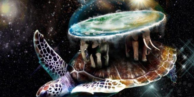 Земля держится на трех слонах и черепахе
