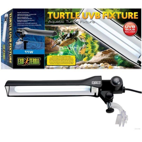 УФ лампа для красноухих черепах в аквариум