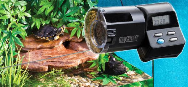 Автокормушка для черепах