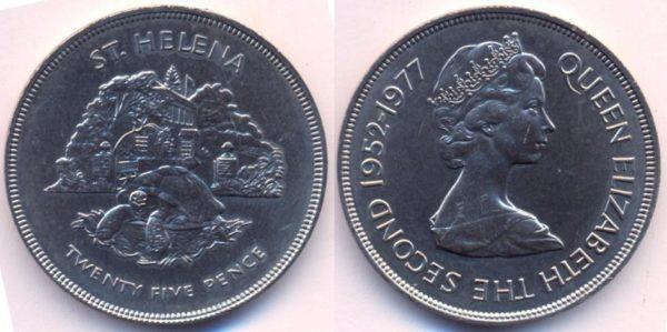 Монета с изображением черепахи Джонатана