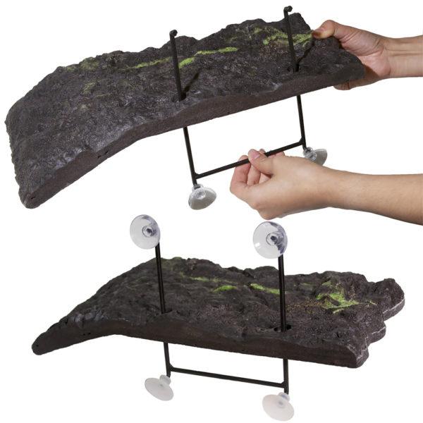Подвесная полочка для водных черепах в аквариум