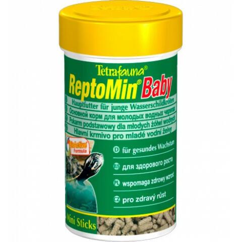 Корм для маленьких красноухих черепах Tetra ReptoMin Baby