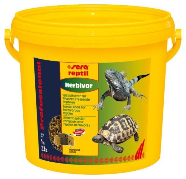 Корм для сухопутной черепахи Sera Reptil Professional Herbivor